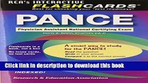 Read PANCE (Physician Assistant Nat. Cert Exam) Flashcard Book (PANCE Test Preparation)  Ebook