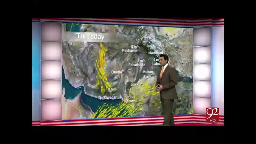 Weather Updates - 01-09-2016 - 92NewsHD