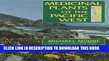 [PDF] Medicinal Plants of the Pacific West Popular Online