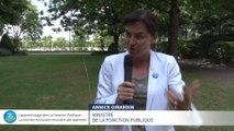 L'apprentissage dans la Fonction Publique, la ministre Annick Girardin rencontre des appentis
