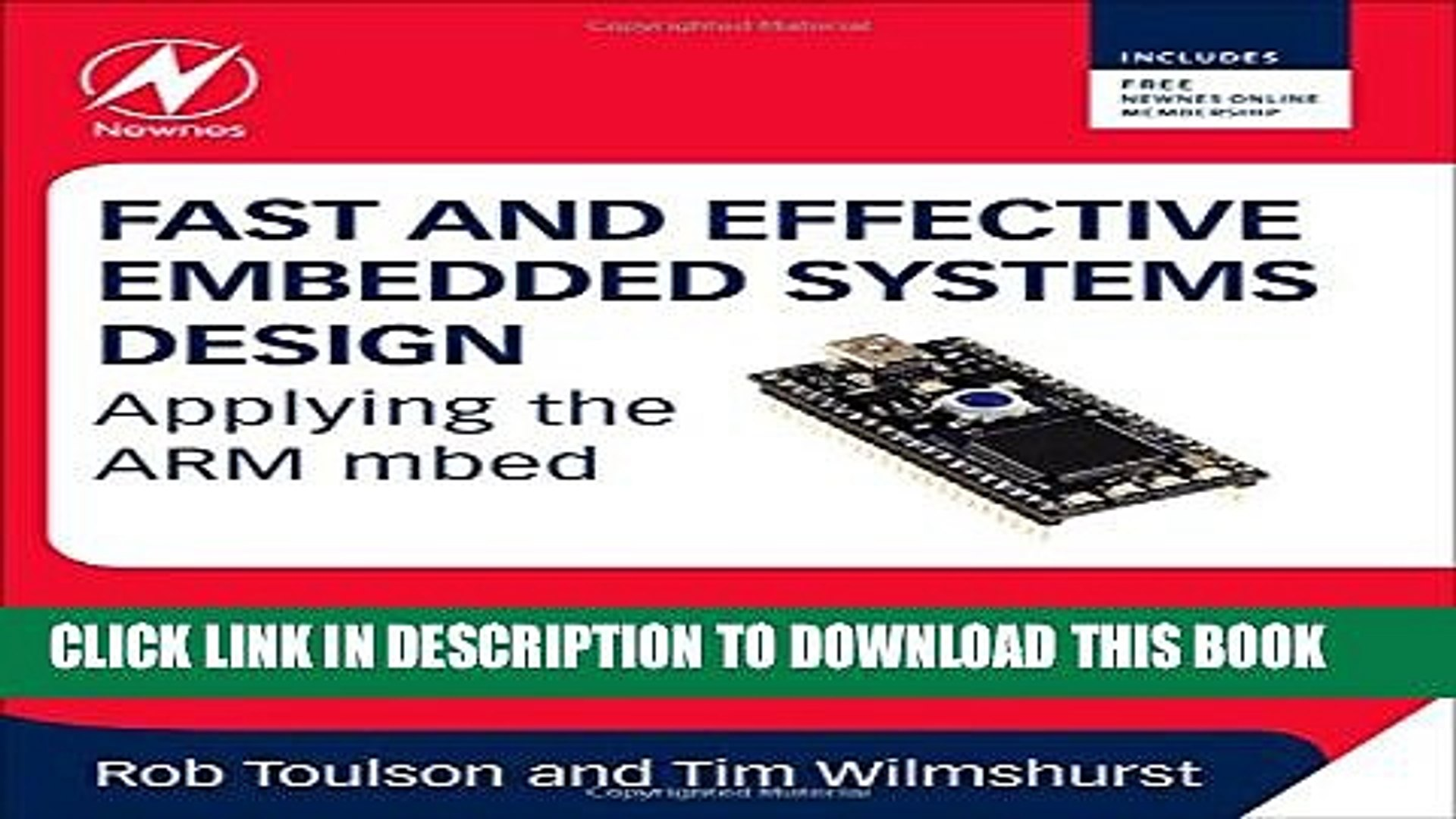 [Read PDF] Fast and Effective Embedded Systems Design: Applying the ARM  mbed Download Free
