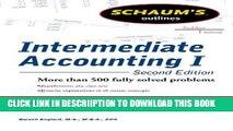 [PDF] Schaums Outline of Intermediate Accounting I, Second Edition (Schaum s Outlines) Popular