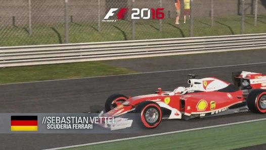 F1 2016 - Monza Hot Lap with Sebastian Vettel (Scuderia ...