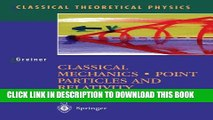 PDF] Classical Mechanics: Point Particles and Relativity Popular