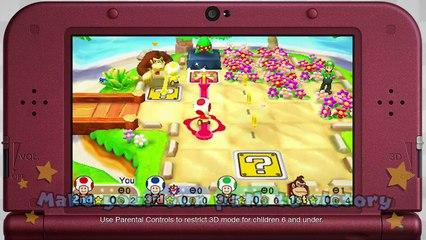 Mario Party : Star Rush : Main Modes Game Trailer