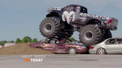 Monster Truck National's RAMINATOR Featured On Today Show