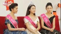 [Live On YAN News] Hoa hậu Mỹ Linh - Á hậu 1 Thanh Tú - Á hậu 2 Thùy Dung