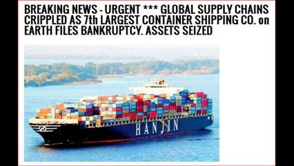 Global Shipping Bankruptcy Crisis
