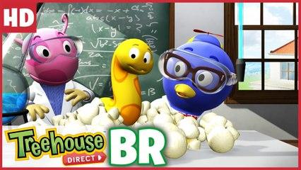 Experiência da ciência louca na escola com Os Backyardigans !