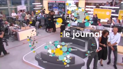 Lancement de la version TV de franceinfo: