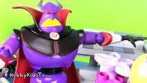 Play-Doh LEGO Cake for Toy Story Zurg! [Emmet] [Double Decker Couch] [Duplo] [Ice Cream]