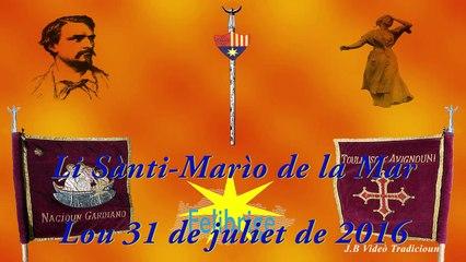 112enco fèsto vierginenco - Li Sànti Marìo de la Mar - Lou 31 de juliet de 2016