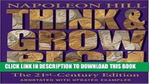 [PDF] Think and Grow Rich: The 21st-Century Edition: Revised and Updated Full Collection
