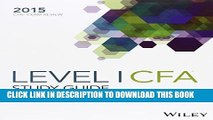 [PDF] Wiley Study Guide for 2015 Level I CFA Exam: Complete Set Full Colection