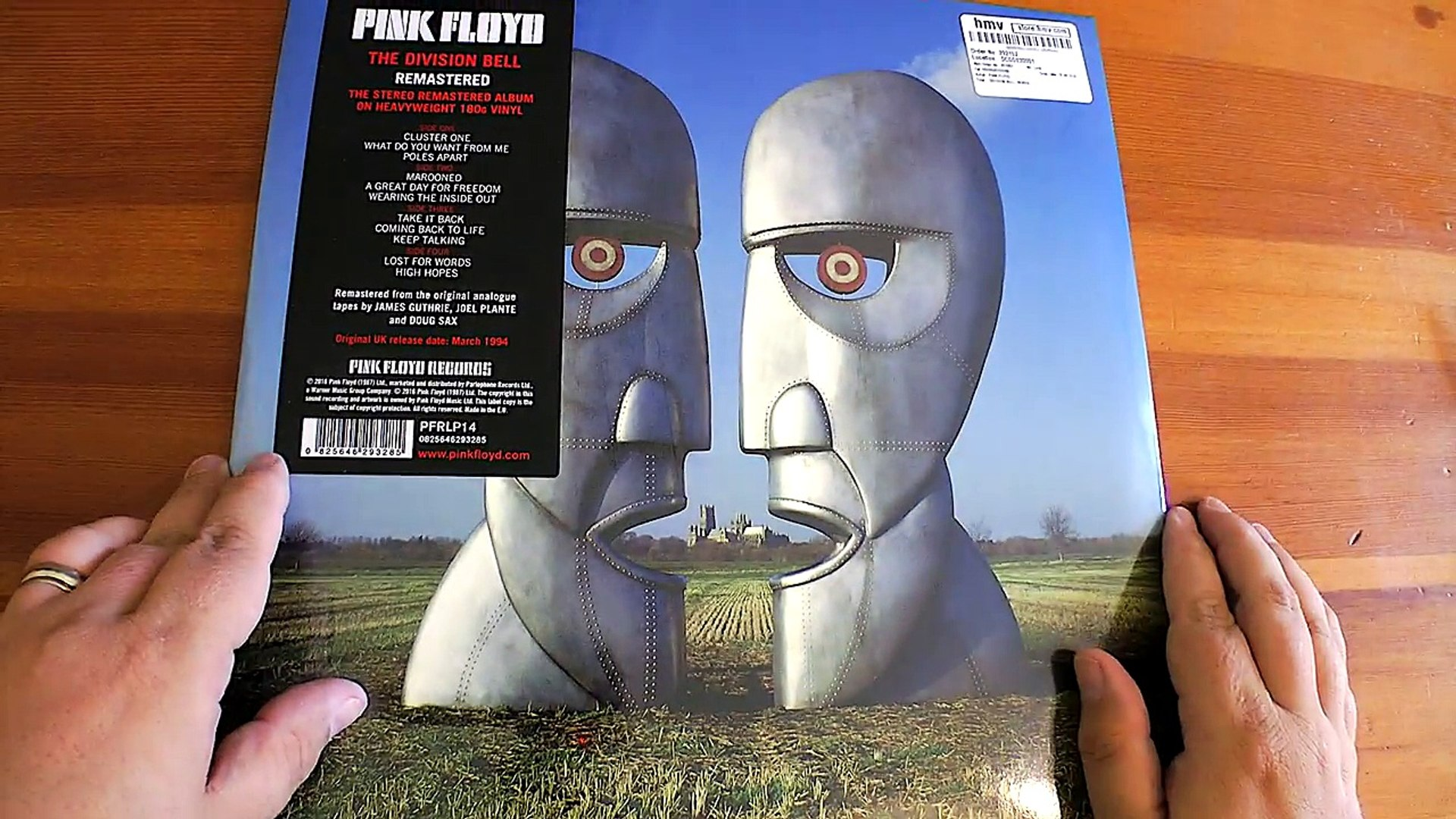 First Look The Division Bell Pink Floyd 2016 Reissue Video