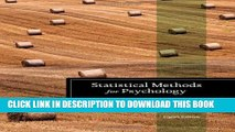 [PDF] Statistical Methods for Psychology (PSY 613 Qualitative Research and Analysis in Psychology)