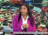 Canciller venezolana: Seguiremos defendiendo la paz y la estabilidad