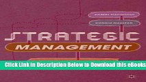 [Reads] Strategic Management: Strategists at Work Free Books