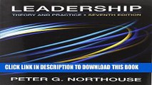 Collection Book Leadership: Theory and Practice, 7th Edition