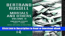 [PDF] Mortals and Others, Volume II: American Essays 1931-1935 (Mortals   Others) Popular New