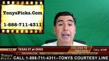 Ohio Bobcats vs. Texas St Bobcats Free Pick Prediction NCAA College Football Odds Preview 9/3/2016