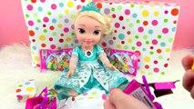 Baby Doll ELSA BIRTHDAY PARTY!! Shopkins Season 3 Surprise Frozen Disney Princes