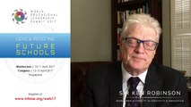 Sir Ken Robinson - Keynote Speaker for World Educational Leadership Summit 2017