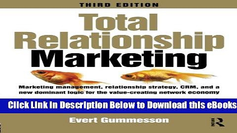 [Download] Total Relationship Marketing Free Ebook