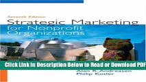 [Get] Strategic Marketing for Non-Profit Organizations (7th Edition) Popular Online