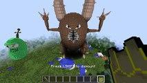 Minecraft vs Pokemon go - GIGA PINSIR!! - (PvZ-Pokego Land)