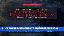 Collection Book Introduction to Forensic Psychology: Research and Application