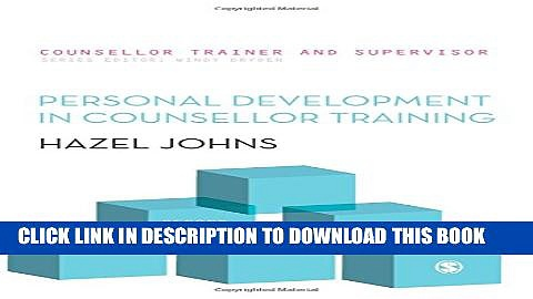 [PDF] Personal Development In Counsellor Training Full Online