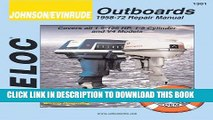 Evinrude 35 HP outboard - leaking fuel pump replacement