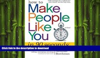 READ  How to Make People Like You in 90 Seconds or Less FULL ONLINE
