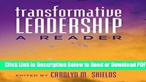 [Get] Transformative Leadership: A Reader (Counterpoints) Popular New