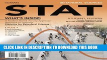 [Read] Behavioral Sciences STAT (with Review Cards and Psychology CourseMate with eBook Printed