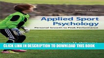 New Book Applied Sport Psychology: Personal Growth to Peak Performance