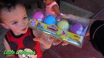 PLAY DOH EASTER EGG HUNT Challenge Fun Play-doh colours   playdough Eggs MINIONS