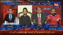 PAT Leader Omer Raiz Abbasi and PML-N Leader Rana Fazal Fight Each Other In Live Show