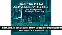 [Download] Spend Analysis: The Window into Strategic Sourcing Popular Online