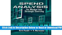 [Get] Spend Analysis: The Window into Strategic Sourcing Popular New