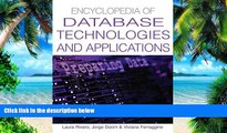 Big Deals  Encyclopedia Of Database Technologies And Applications  Free Full Read Most Wanted