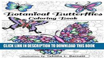 [PDF] Botanical Butterflies Coloring Book: 58 Beautiful tangled and floral butterflies to color