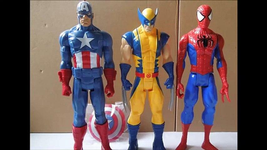 Juguetes Hombre Araña en español,Dibujos Animados Para Niños Spiderman