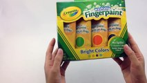 Learn Color With Finger Painting Finger Painting For Kids Kids Toys