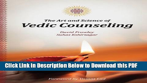 [Read] The Art and Science of Vedic Counseling Full Online