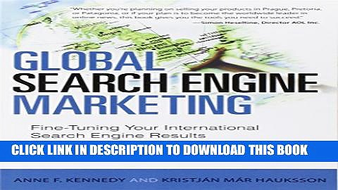 [PDF] Global Search Engine Marketing: Fine-Tuning Your International Search Engine Results (Que