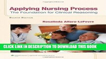 [PDF] Applying Nursing Process: The Foundation for Clinical Reasoning Popular Colection