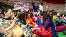 Govt Nurses On Strike: Hospital Services Severely Effected, Delhi Govt Imposes ESMA