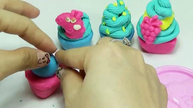 Peppa Pig Play Doh Fruit Ice Cream George Eat IceCream Peppa Pig Family Toy Surprise Eggs Play Dough